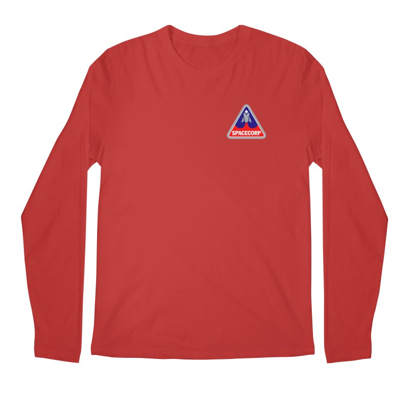 SpaceCorp Logo Men's Regular Longsleeve T-Shirt by The Darkest of the Hillside Thickets Merchporium