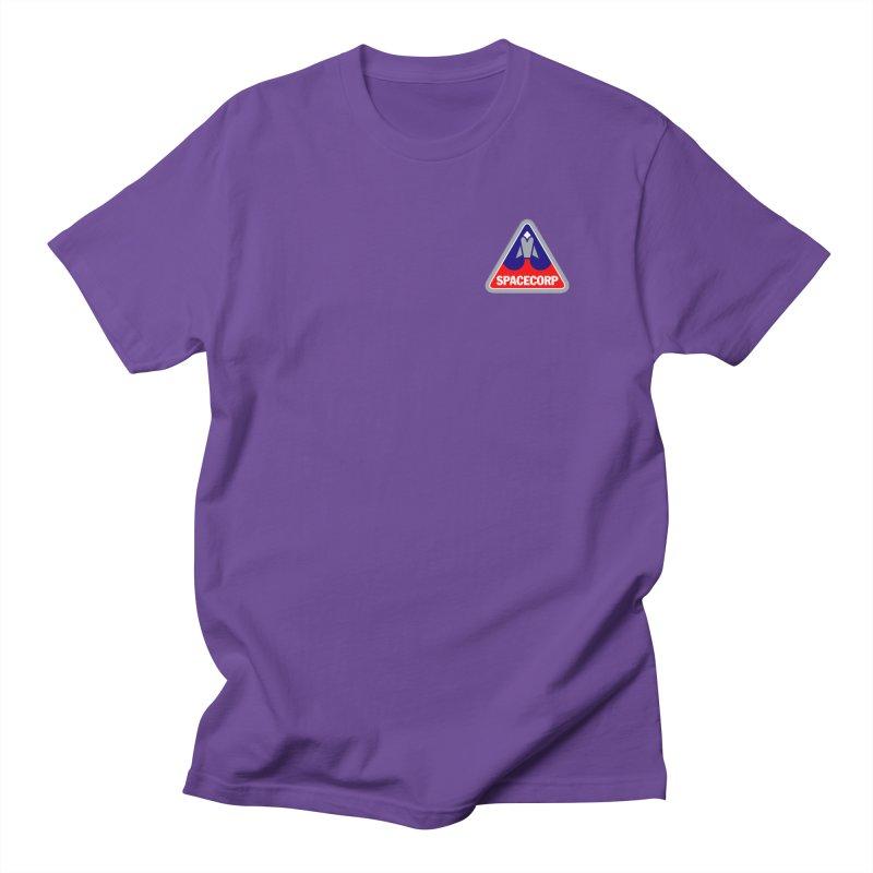SpaceCorp Logo Men's Regular T-Shirt by The Darkest of the Hillside Thickets Merchporium
