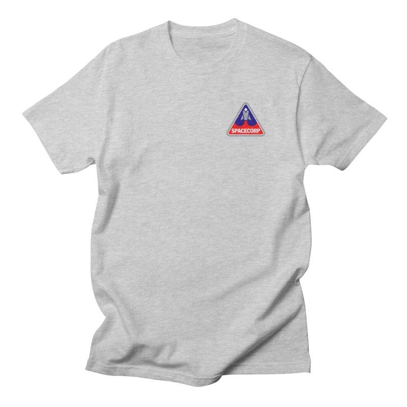 SpaceCorp Logo Women's Regular Unisex T-Shirt by The Darkest of the Hillside Thickets Merchporium
