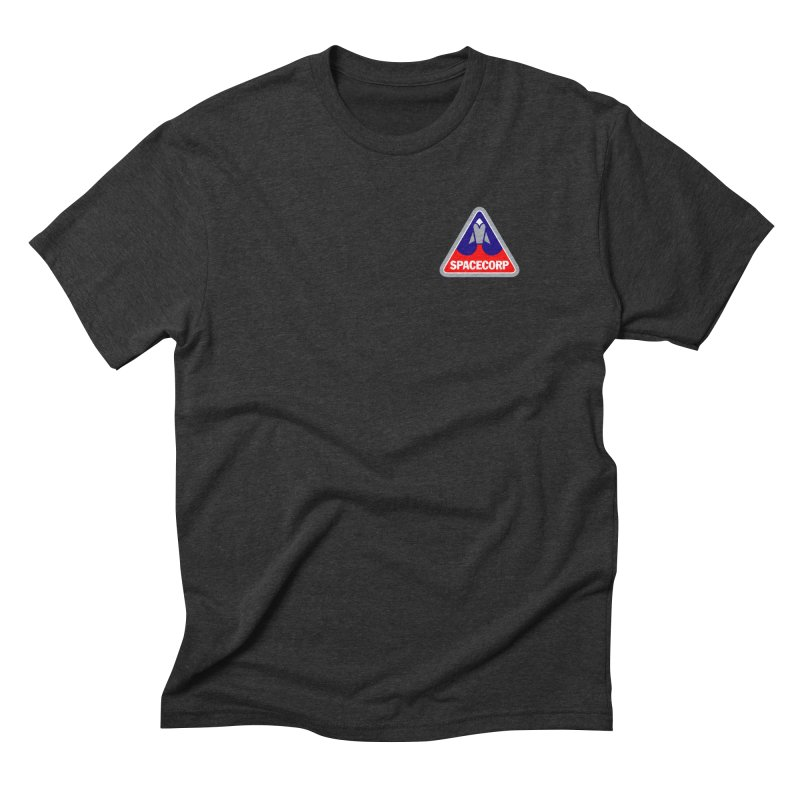 SpaceCorp Logo Men's Triblend T-Shirt by The Darkest of the Hillside Thickets Merchporium
