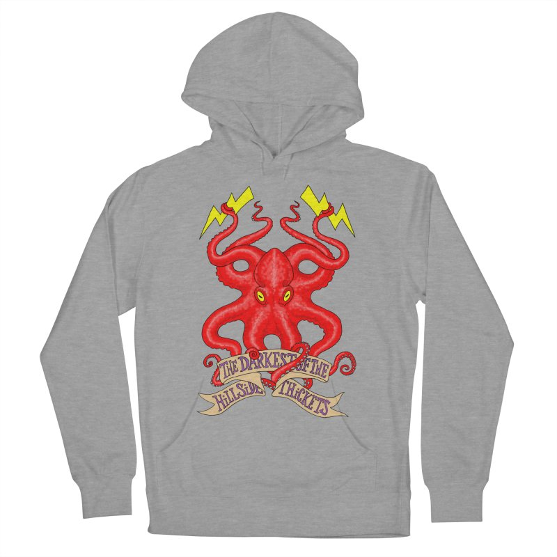 Rocktopus Men's French Terry Pullover Hoody by The Darkest of the Hillside Thickets Merchporium
