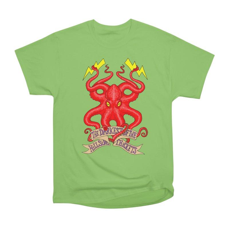 Rocktopus Women's Heavyweight Unisex T-Shirt by The Darkest of the Hillside Thickets Merchporium