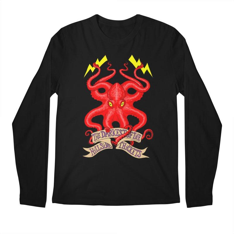 Rocktopus Men's Regular Longsleeve T-Shirt by The Darkest of the Hillside Thickets Merchporium