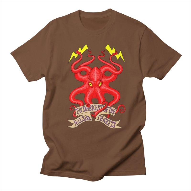 Rocktopus Women's Regular Unisex T-Shirt by The Darkest of the Hillside Thickets Merchporium