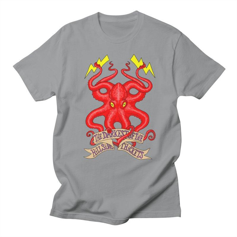 Rocktopus Women's Unisex T-Shirt by The Darkest of the Hillside Thickets Merchporium
