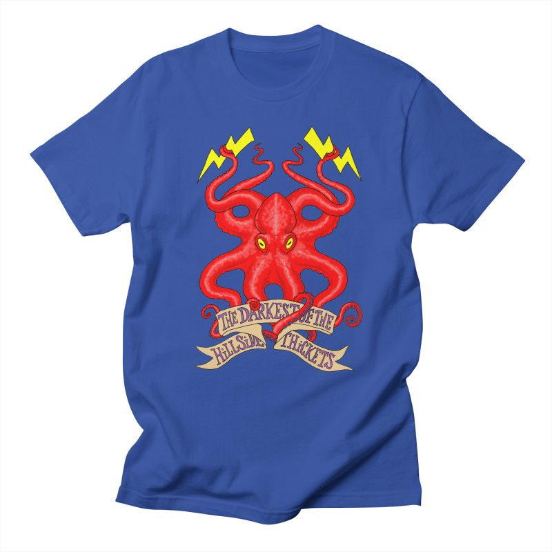 Rocktopus Women's Regular Unisex T-Shirt by The Darkest of the Hillside Thickets Merchporium