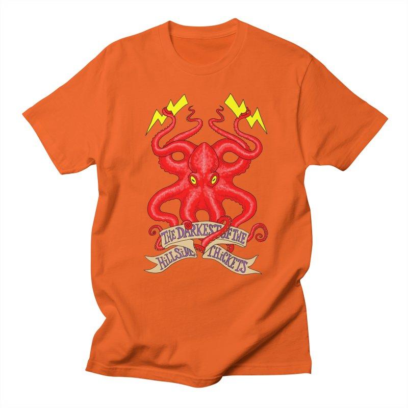 Rocktopus Men's Regular T-Shirt by The Darkest of the Hillside Thickets Merchporium