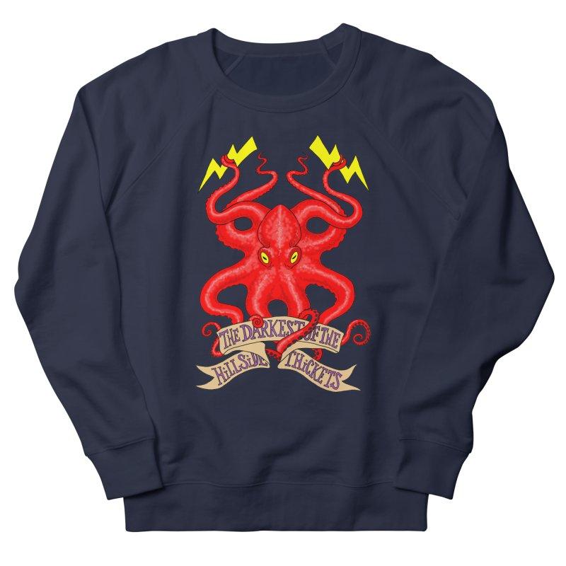 Rocktopus Women's French Terry Sweatshirt by The Darkest of the Hillside Thickets Merchporium
