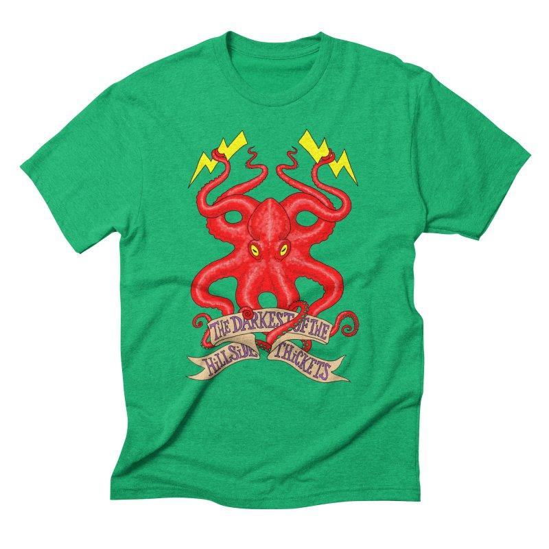 Rocktopus Men's Triblend T-Shirt by The Darkest of the Hillside Thickets Merchporium