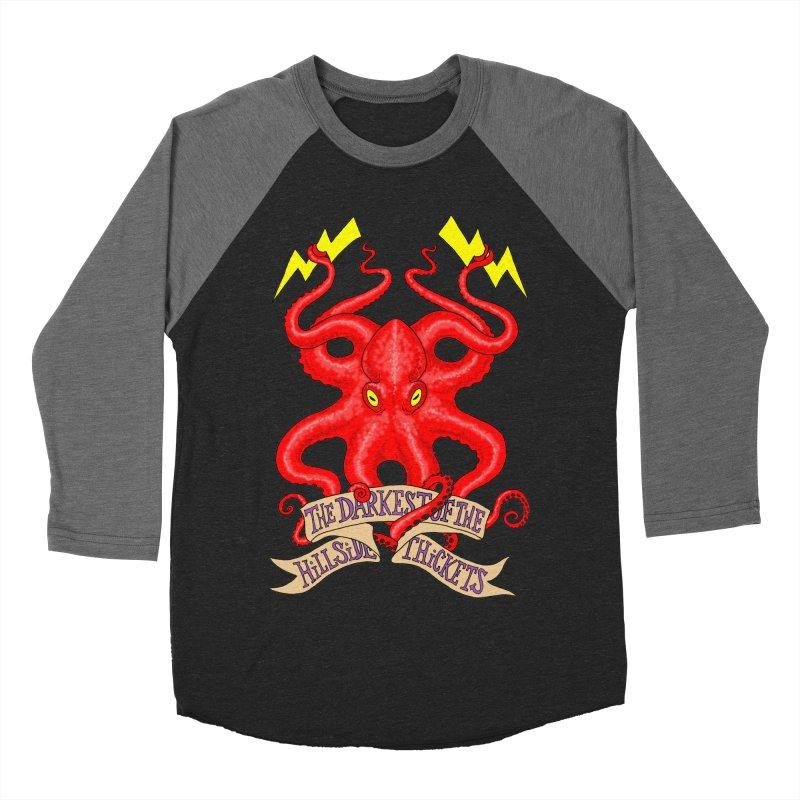 Rocktopus Women's Baseball Triblend Longsleeve T-Shirt by The Darkest of the Hillside Thickets Merchporium