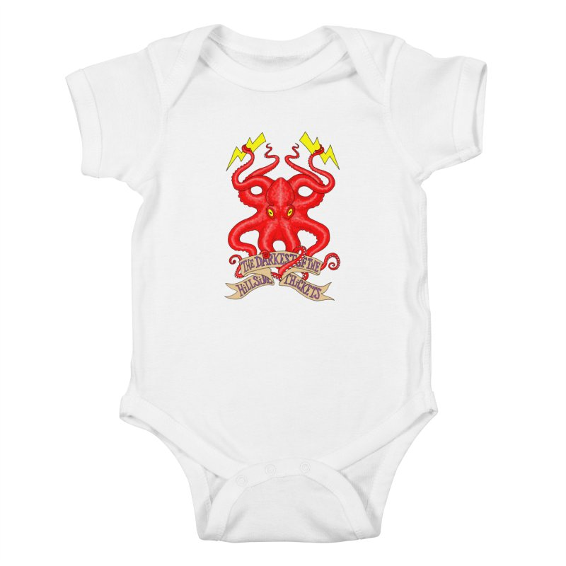 Rocktopus Kids Baby Bodysuit by The Darkest of the Hillside Thickets Merchporium