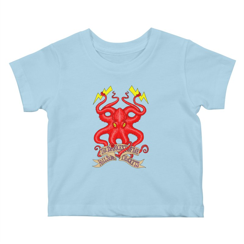 Rocktopus Kids Baby T-Shirt by The Darkest of the Hillside Thickets Merchporium