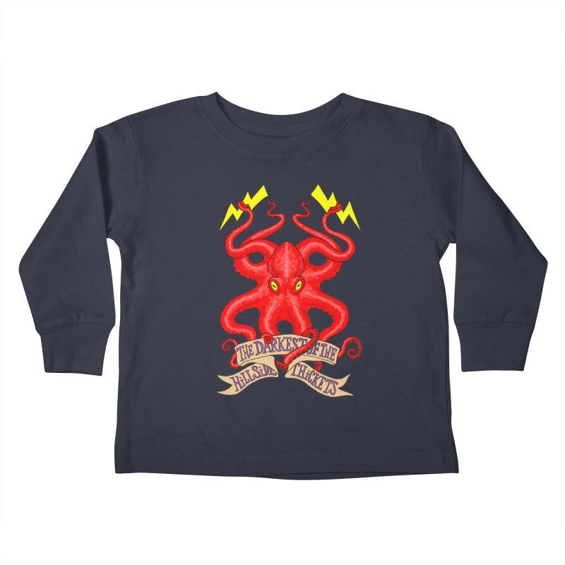 Rocktopus Kids Toddler Longsleeve T-Shirt by The Darkest of the Hillside Thickets Merchporium