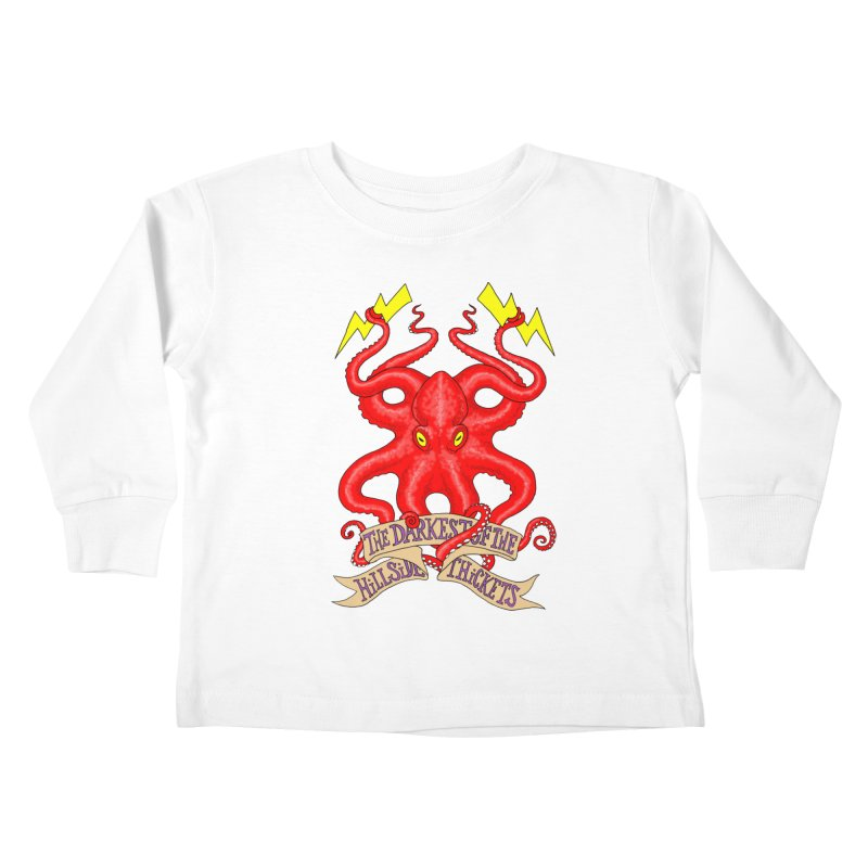 Rocktopus Kids Toddler Longsleeve T-Shirt by The Darkest of the Hillside Thickets Merchporium