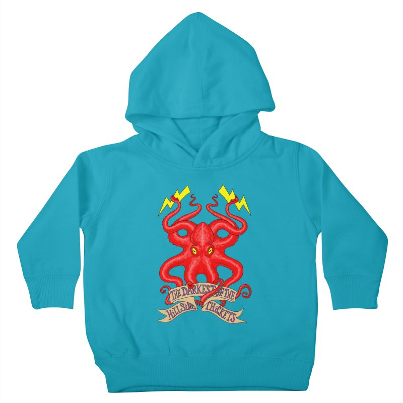Rocktopus Kids Toddler Pullover Hoody by The Darkest of the Hillside Thickets Merchporium