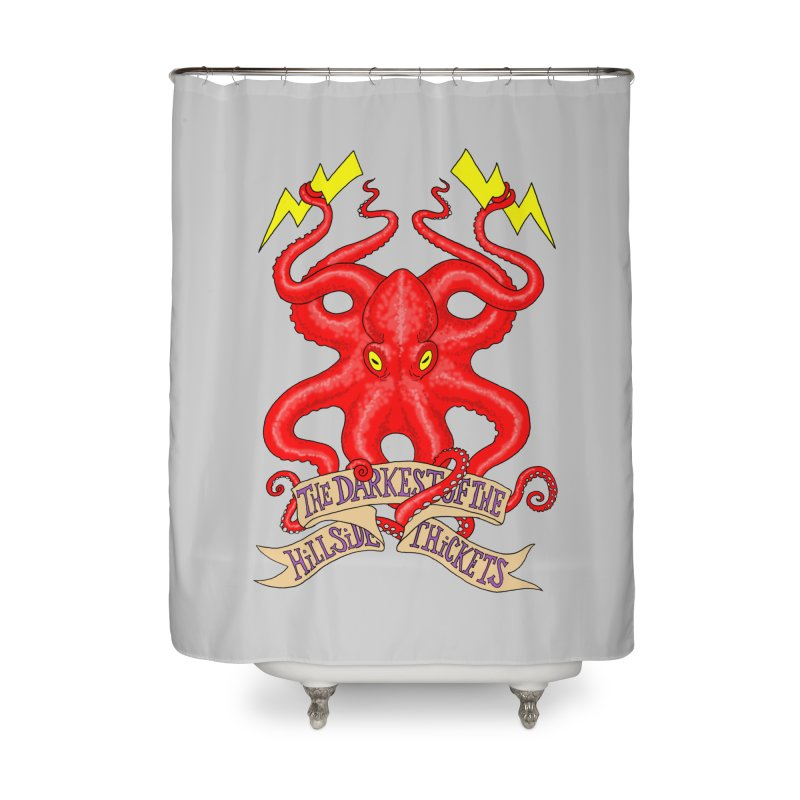 Rocktopus Home Shower Curtain by The Darkest of the Hillside Thickets Merchporium
