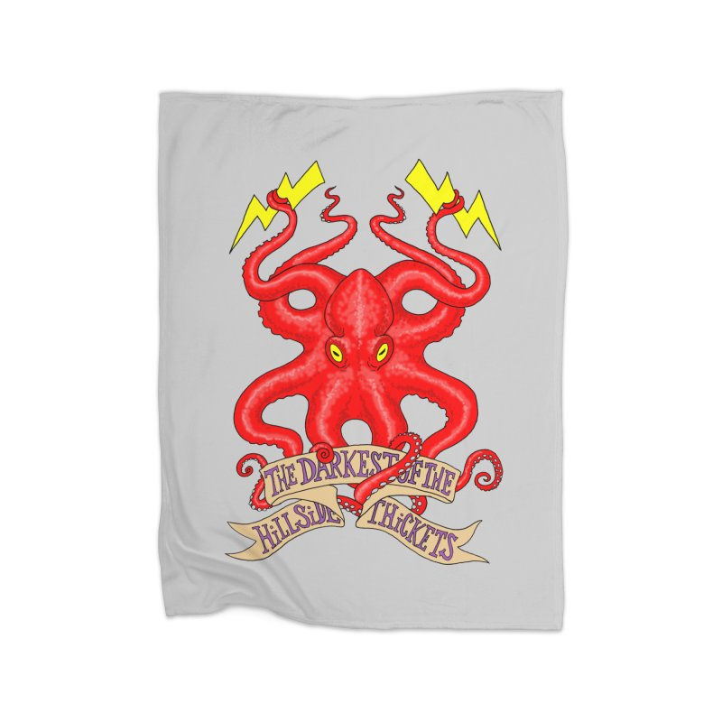 Rocktopus Home Blanket by The Darkest of the Hillside Thickets Merchporium