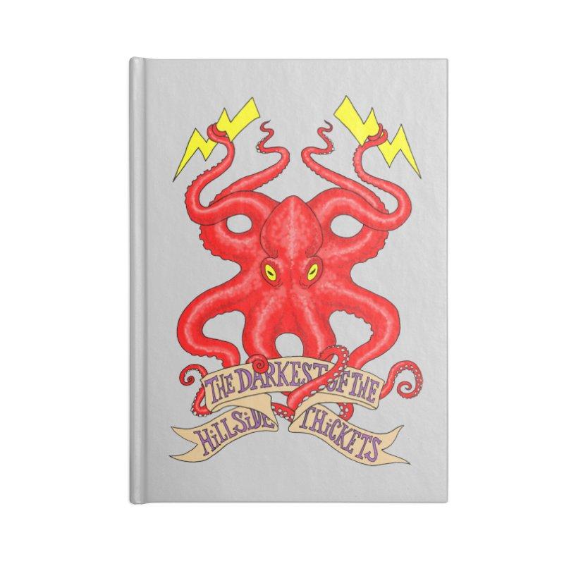 Rocktopus Accessories Notebook by The Darkest of the Hillside Thickets Merchporium