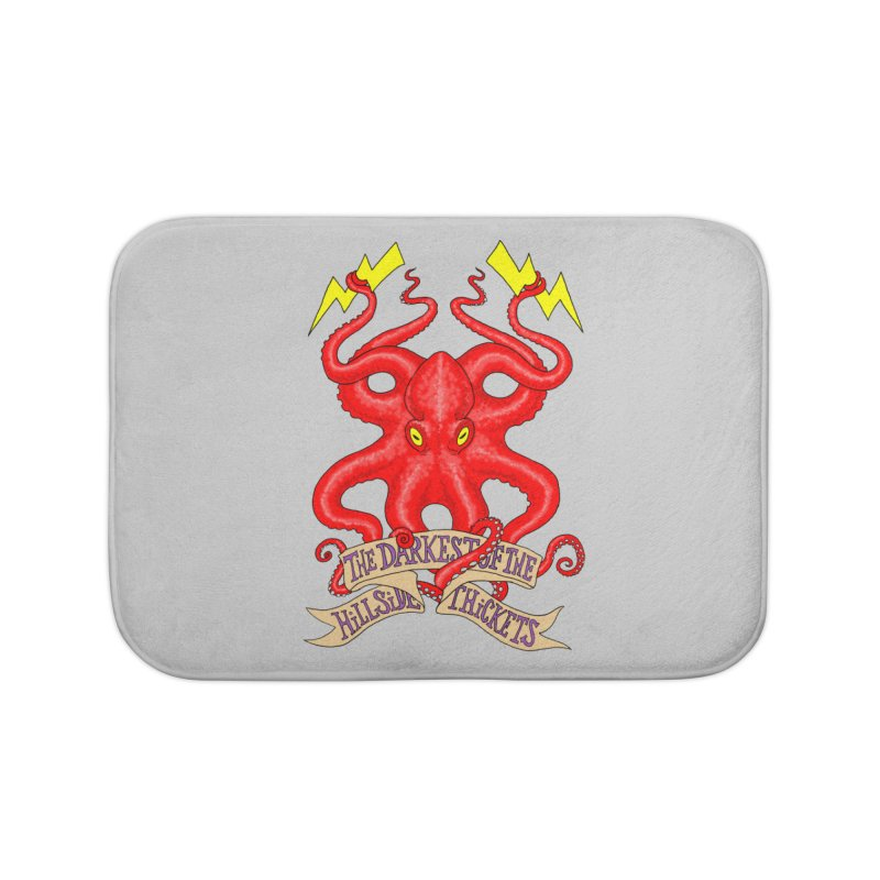 Rocktopus Home Bath Mat by The Darkest of the Hillside Thickets Merchporium