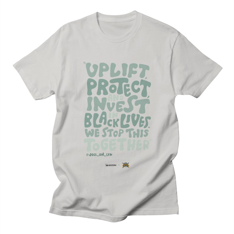 Uplift Us Men's T-Shirt by thediatribe's Artist Shop