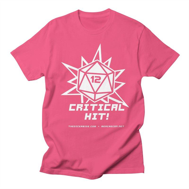 Critical Hit Men's Regular T-Shirt by thediceabide's Artist Shop