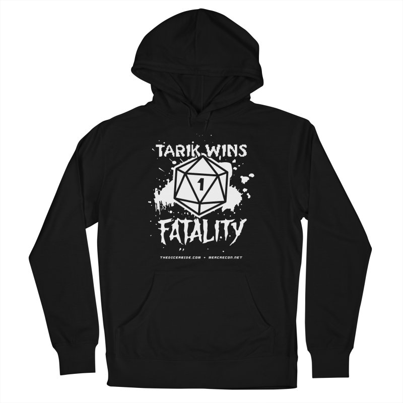 Fatality Level 2 Men's French Terry Pullover Hoody by thediceabide's Artist Shop