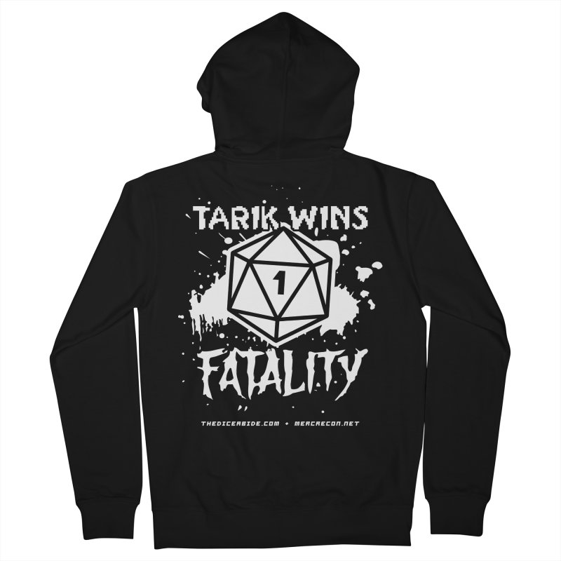 Fatality Level 2 Men's French Terry Zip-Up Hoody by thediceabide's Artist Shop