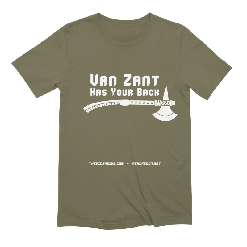 Van Zant Has Your Back Men's Extra Soft T-Shirt by thediceabide's Artist Shop