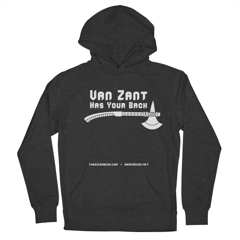 Van Zant Has Your Back Men's French Terry Pullover Hoody by thediceabide's Artist Shop