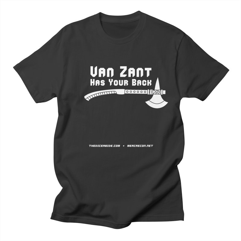Van Zant Has Your Back Men's T-Shirt by thediceabide's Artist Shop
