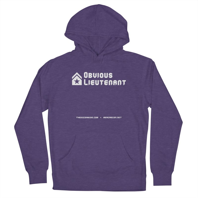 Obvious Lieutenant Men's French Terry Pullover Hoody by thediceabide's Artist Shop