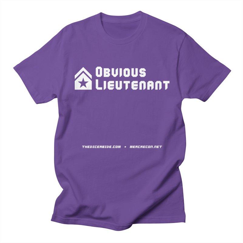Obvious Lieutenant Men's Regular T-Shirt by thediceabide's Artist Shop