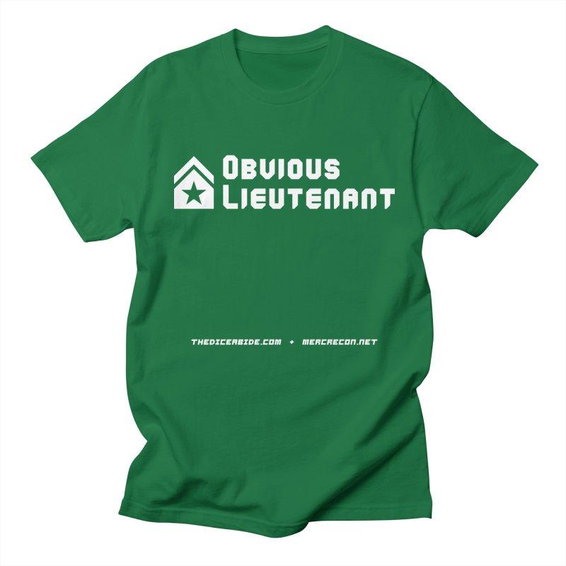 Obvious Lieutenant Men's T-Shirt by thediceabide's Artist Shop