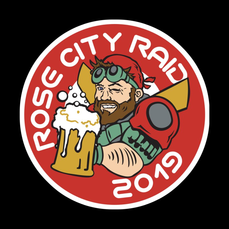 Rose City Raid 2019 by thediceabide's Artist Shop