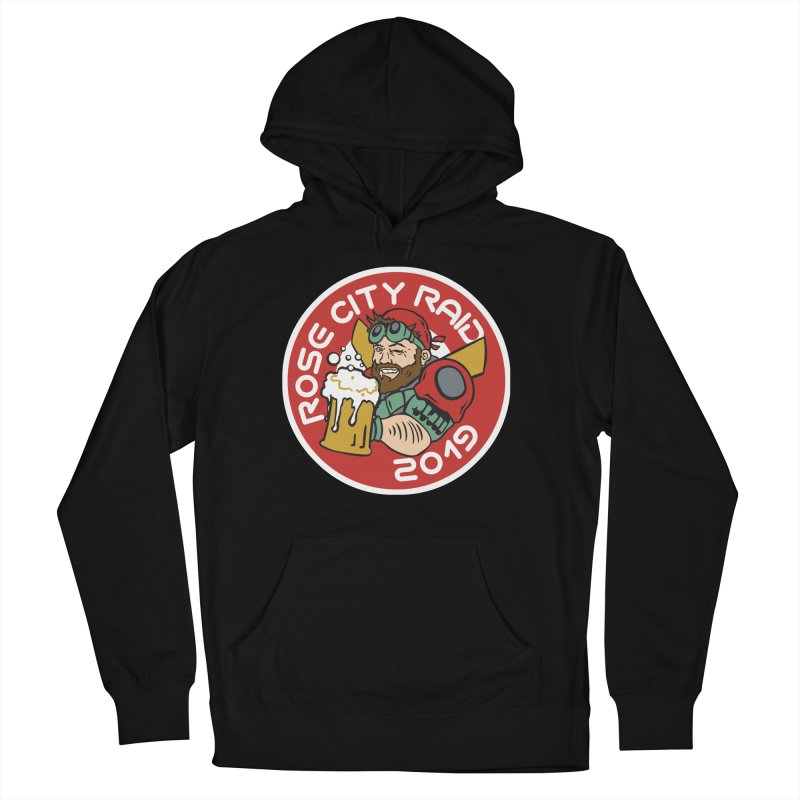 Rose City Raid 2019 Men's French Terry Pullover Hoody by thediceabide's Artist Shop