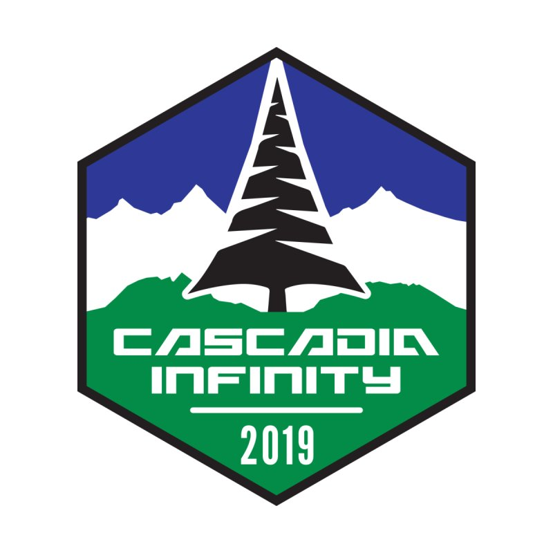 Cascadia Infinity 2019 Men's T-Shirt by thediceabide's Artist Shop