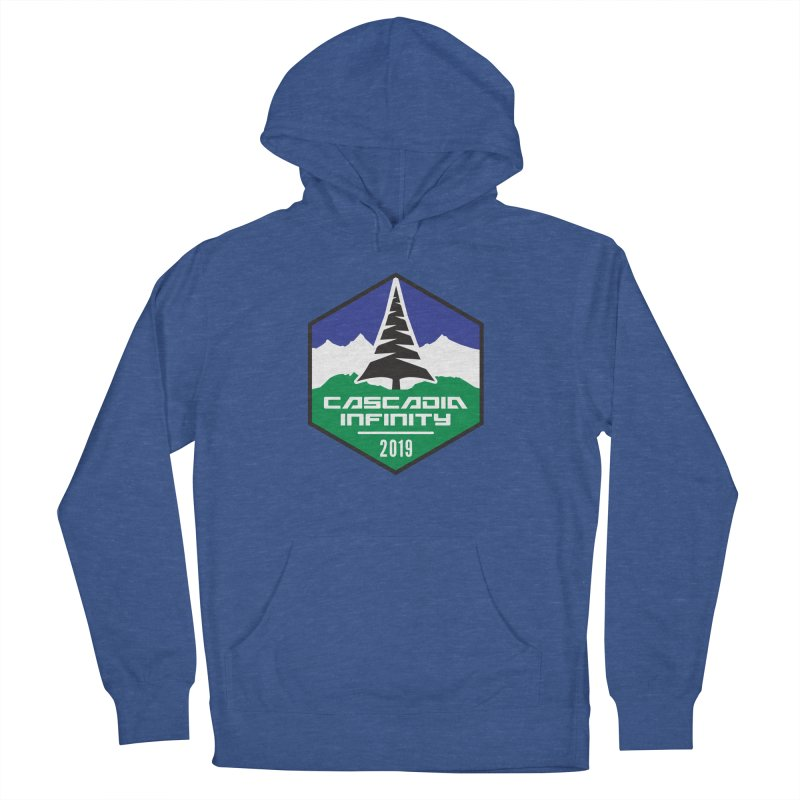 Cascadia Infinity 2019 Men's French Terry Pullover Hoody by thediceabide's Artist Shop