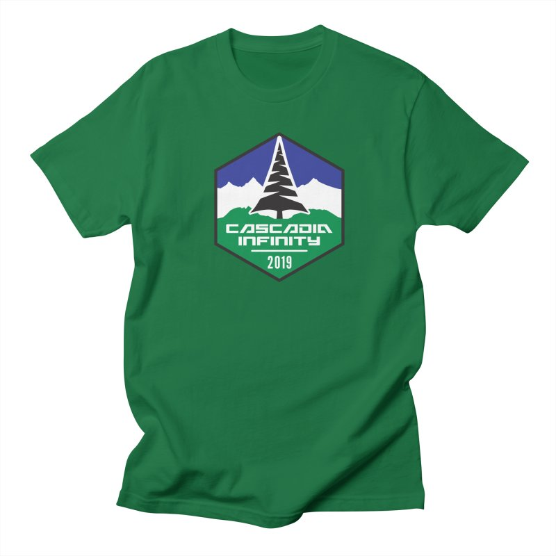 Cascadia Infinity 2019 Women's Regular Unisex T-Shirt by thediceabide's Artist Shop