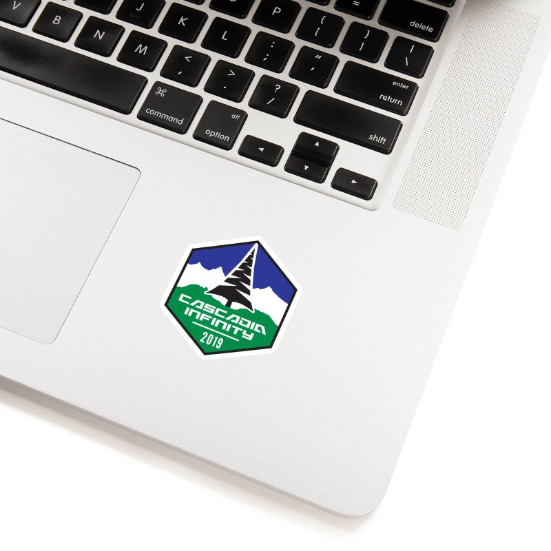 Cascadia Infinity 2019 Accessories Sticker by thediceabide's Artist Shop