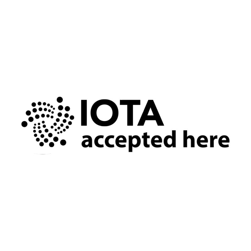 IOTA Accepted Here by The Digital Ledger Shop