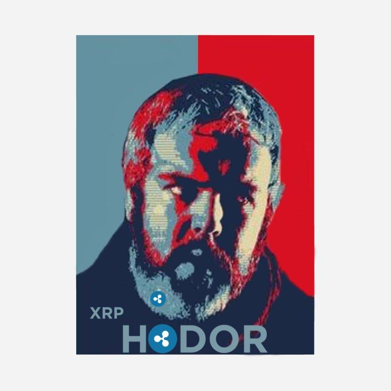 XRP Hodor by The Digital Ledger Shop
