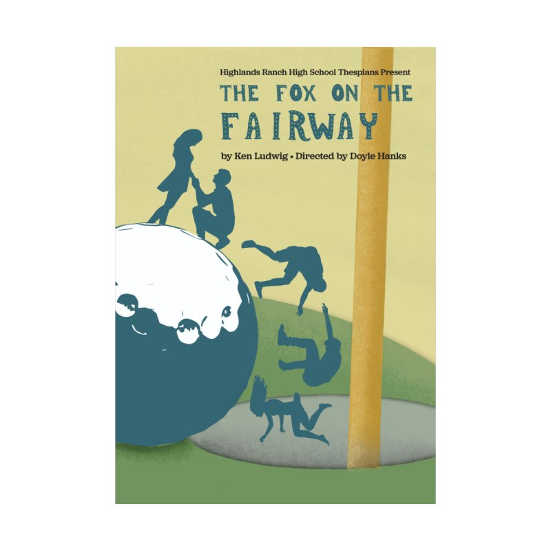 The Fox on the Fairway Swag by HRHS Thespian Swaggy Tees