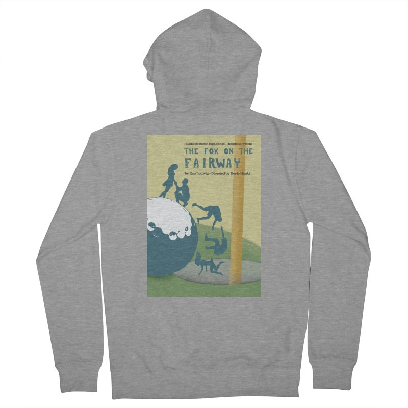 The Fox on the Fairway Swag Men's Zip-Up Hoody by HRHS Thespian Swaggy Tees