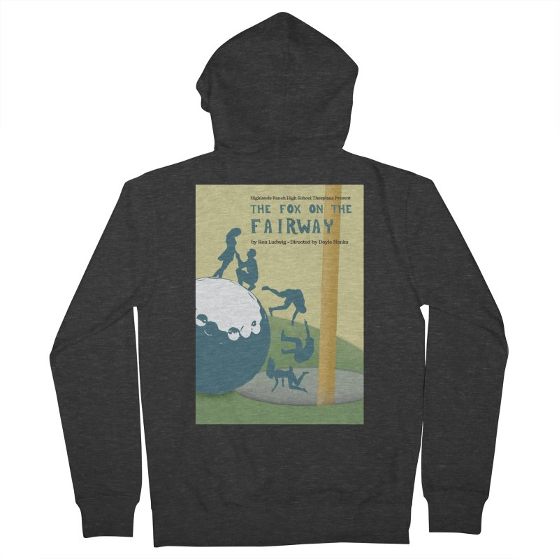 The Fox on the Fairway Swag Women's French Terry Zip-Up Hoody by HRHS Thespian Swaggy Tees