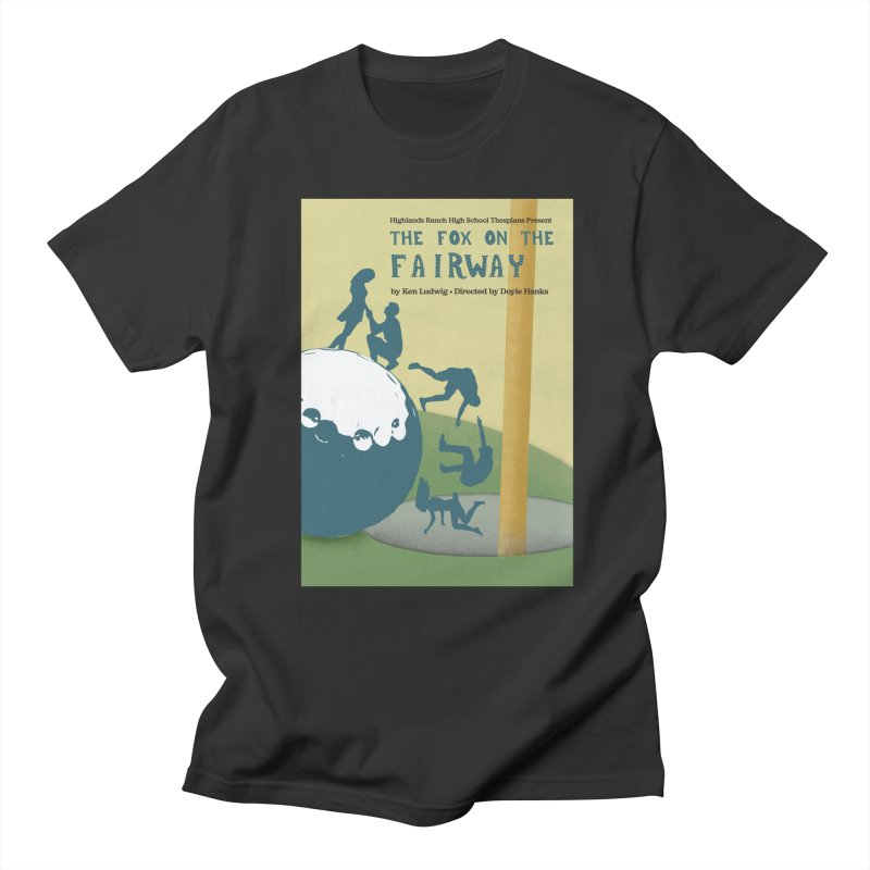 The Fox on the Fairway Swag Men's T-Shirt by HRHS Thespian Swaggy Tees