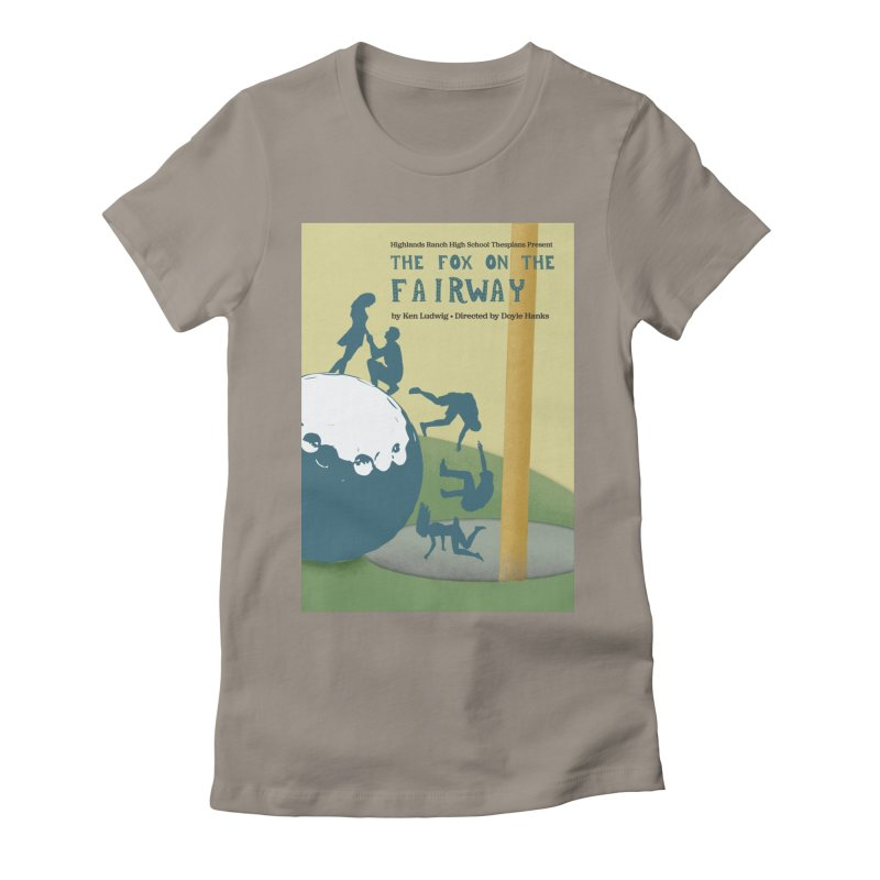 The Fox on the Fairway Swag Women's T-Shirt by HRHS Thespian Swaggy Tees