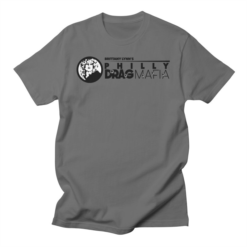 Drag Mafia New Logo Men's T-Shirt by BRITTANY LYNN AND THE PHILLY DRAG MAFIA