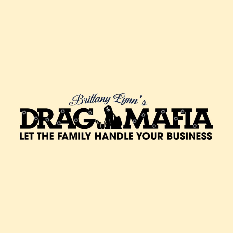 Drag Mafia Logo Women's V-Neck by BRITTANY LYNN AND HER DRAG MAFIA