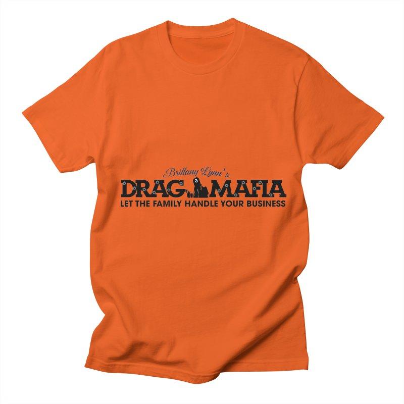 Drag Mafia Logo Men's T-Shirt by BRITTANY LYNN AND HER DRAG MAFIA