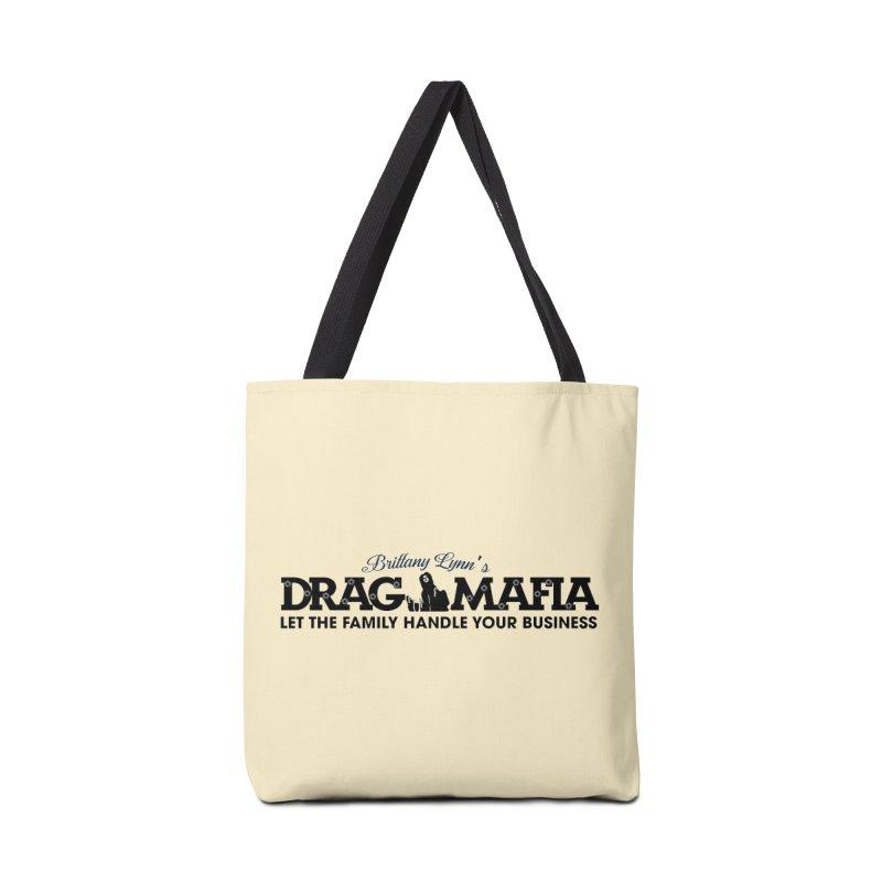 Drag Mafia Logo Accessories Bag by BRITTANY LYNN AND HER DRAG MAFIA